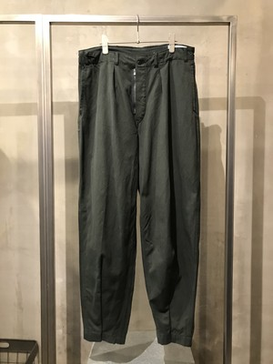 TrAnsference darts tapered baggy army pants - dark forest