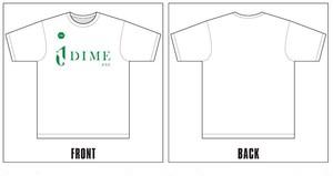TOKYO DIME ユニフォームロゴTシャツ WHITE