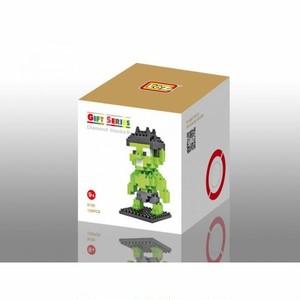 LOZ 9155 ダイヤモンドブロックス ハルク / Diamond blocks Hulk 1個/130pcs