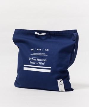MofM(man of moods/マンオブムーズ) mountain streamモチーフ メッセンジャートートバッグ