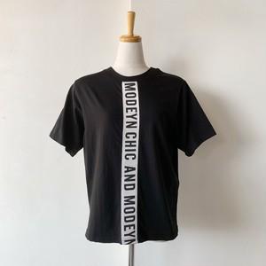 Priority (プライオリティ) センターロゴラインTシャツ  77-P19025