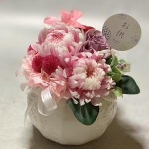 受注制作・adagio仏花アレンジ、pink。