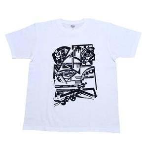 LY:Original T-Shirts ホワイトボディー (Front Print) ① 2020001FPW