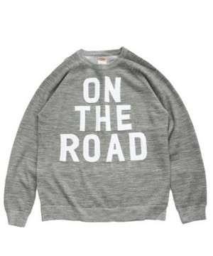 SUNNY SPORTS/ON THE ROAD CREW NECK SWEATER