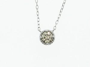 【PT900】0.30ct UP ダイヤモンドネックレス