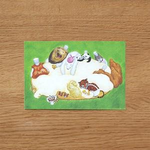 えほんポストカード「パンダくん いそいで!」