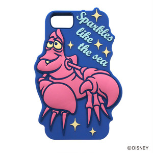 The Little Mermaid SILICONE iPhone CASE YY-D041 BL