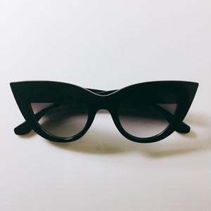 Eyewear♡キャットアイ01 ブラック