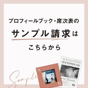 【プロフィールブック】サンプル購入(送料無料)