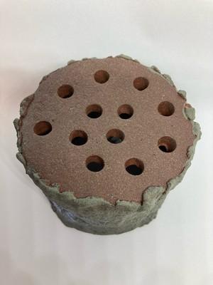 イオレイズカバー 丸型 (ハンドメイド陶器) BM002