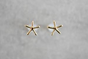 Sea Star ピアス / K18YG