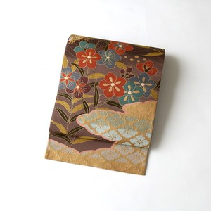 2083 白綾苑大庭謹製◆袋帯
