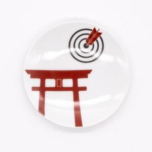 【限定1点 アウトレット品】波佐見焼 ニッポン 手塩皿(トリイ) 253899 豆豆市137