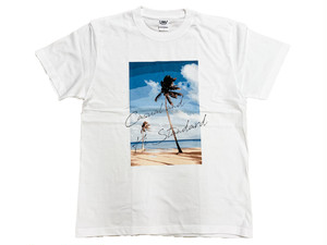 【paint palm tree T-shirt】
