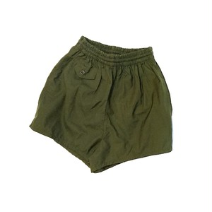 【ladies】us military O.D shorts deadstock