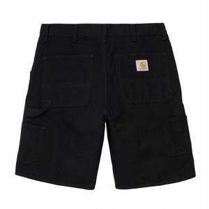 Carhartt (カーハート) SINGLE KNEE SHORT - Black rinsed