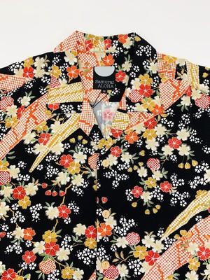 BASE限定★サムライアロハ  silk M _3213001