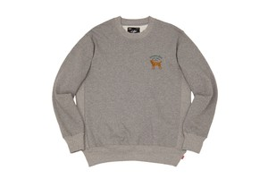 WHIMSY / HOT SPOT CREWNECK -HEATHER GREY-