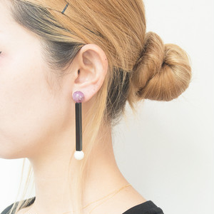 Neo Eccentric pierces -lollipop black-