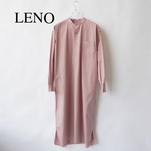LENO/リノ・BAND COLLAR PULLOVER DRESS