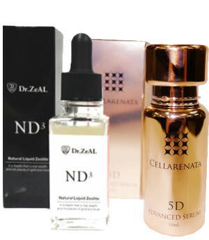 定期購入 CELLARENATA 5D ADVANCED SERUM + ND3