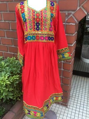 アフガン刺繍ドレスB2226