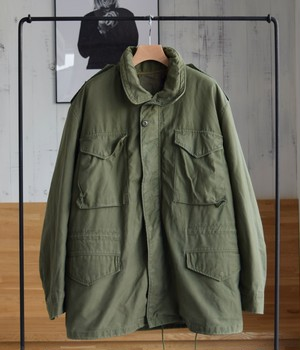 VINTAGE 70s US ARMY M-65 JACKET