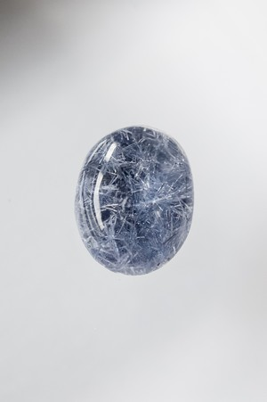 Dumortierite in quartz - 010