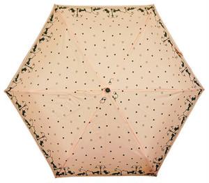 折りたたみ傘 ナイトウォーク猫