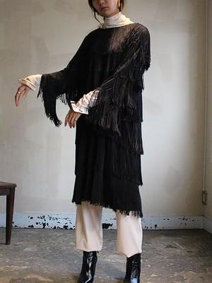 60s fringe dress