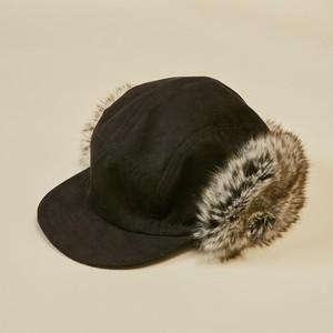【予約】MOUN TEN. fur ear muffs jetcap [21W-MA41-1050] MOUNTEN.