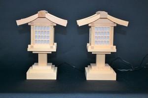 桧 春日燈籠 5寸