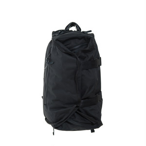 Double Strap Backpack Black×Black LO-STN-BP01