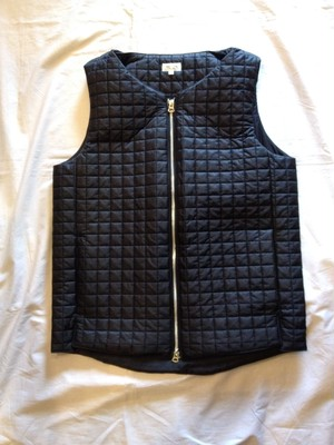 NYLON QUILTING THINSULATE VEST(good thing)