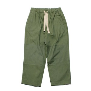 Enharmonic TAVERN Wide Easy Pants N/C Oxford -khaki <LSD-AH3P1-A>