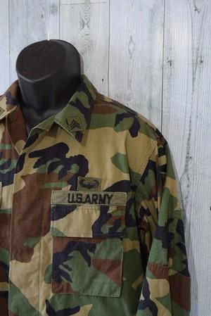 93年製 ミリタリーBDUジャケット (MEDIUM-REGULAR)米軍放出品 RankB
