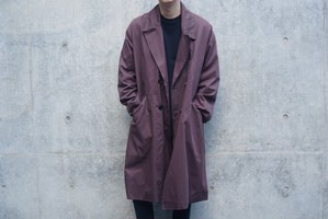 Bordeaux Trench  Coat