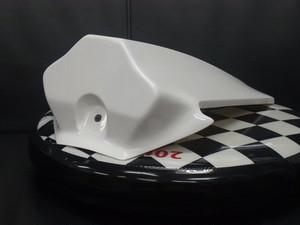 YZF-R125専用 シングルシートカウル一射(いっしゃ) 全年式モデル対応 未塗装白ゲルタイプ