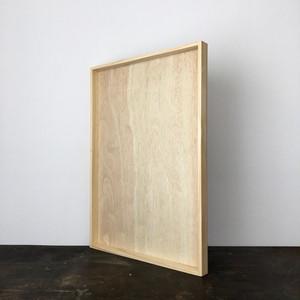 木製のトレイ(大)