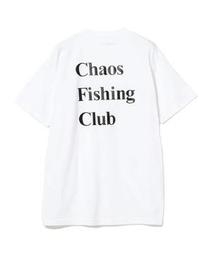 ChaosFishingClub LOGO TEE WHITE