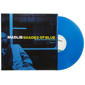 【LP】Madlib - Shades Of Blue: Madlib Invades Blue Note (180g/ブルーヴァイナル)