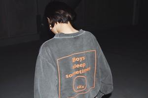 (4)Remake Boys sweatshirt grey