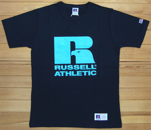 RUSSELL ATHLETIC Bookstore Jersey Print Crew Neck TEE ネイビー ラッセルアスレティック Tシャツ ロゴ プリント カットソー 半袖 RC-1001PT