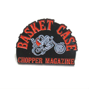 "BASKET CASE magazine ""Lapel Pin"""
