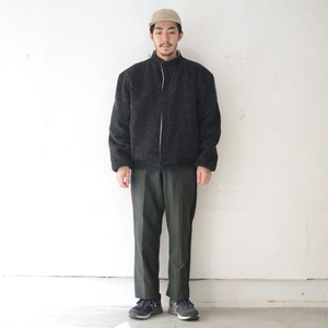 WOOL STAND COLLAR JACKET