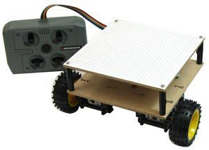 4chワイヤードリモコン制御ロボット基本製作セット RDS-X04