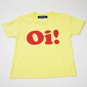 Oi! Tシャツ キッズサイズ イエロー