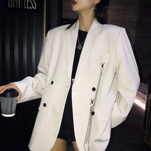 chain simple tailored jacket