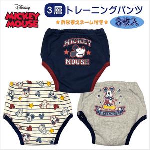 ディズニー(Disney) ミッキーマウス 3層トレーニングパンツ3枚組 (NO.311-105306-03)