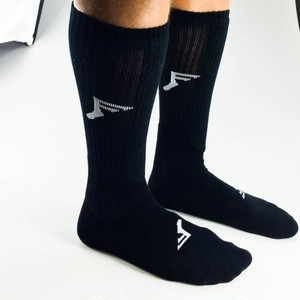FP INSOLES PAINKILLER SOCKS KNEE HIGH BLACK